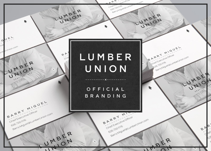 LumberUnion Clothing Company Official Rebrand
